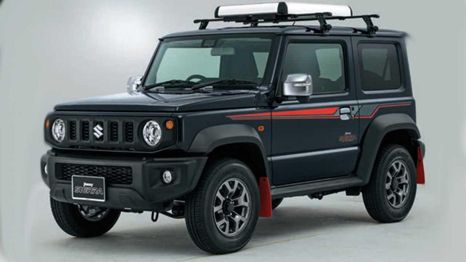 2020 Suzuki Jimny Model Redesign and Concept