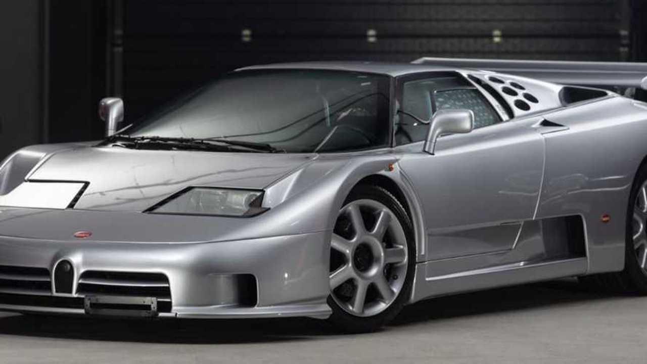 This rare Bugatti EB110 Super Sport has covered just 560 miles