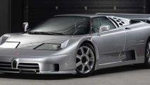 rare bugatti eb110 super sport