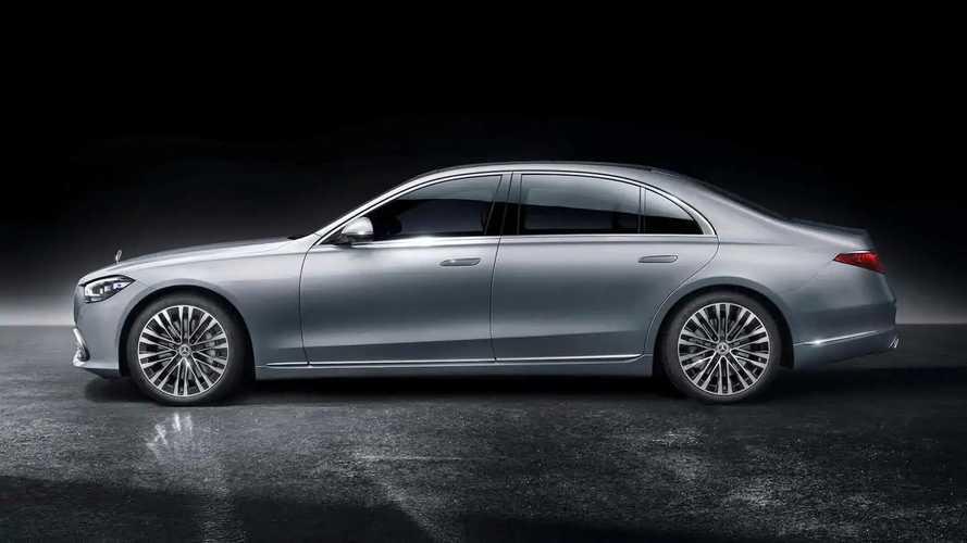 2021 Mercedes-Benz S-Class Side Profile - 5163031