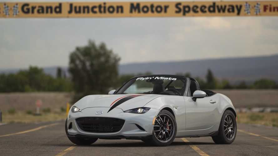 Mazda Miata With LS3 Swap Is A 500-Horsepower V8 Hoot