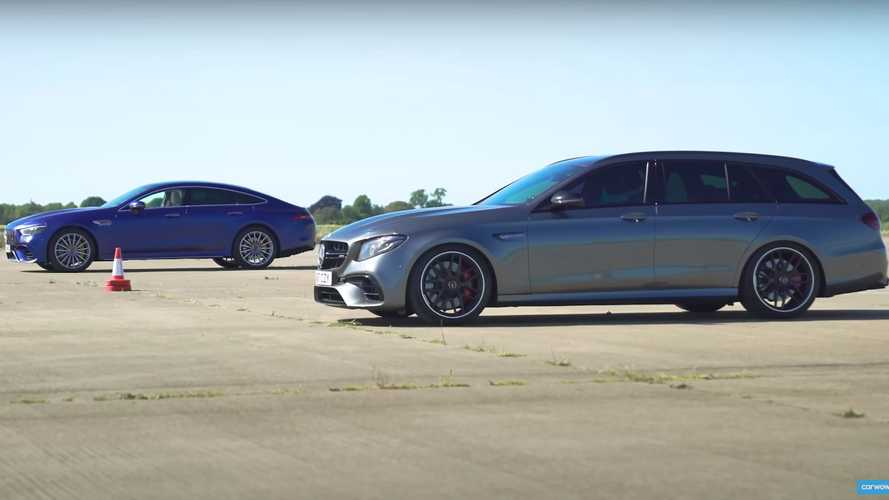 Watch an AMG GT 63 S Vs AMG E63 S Drag Race