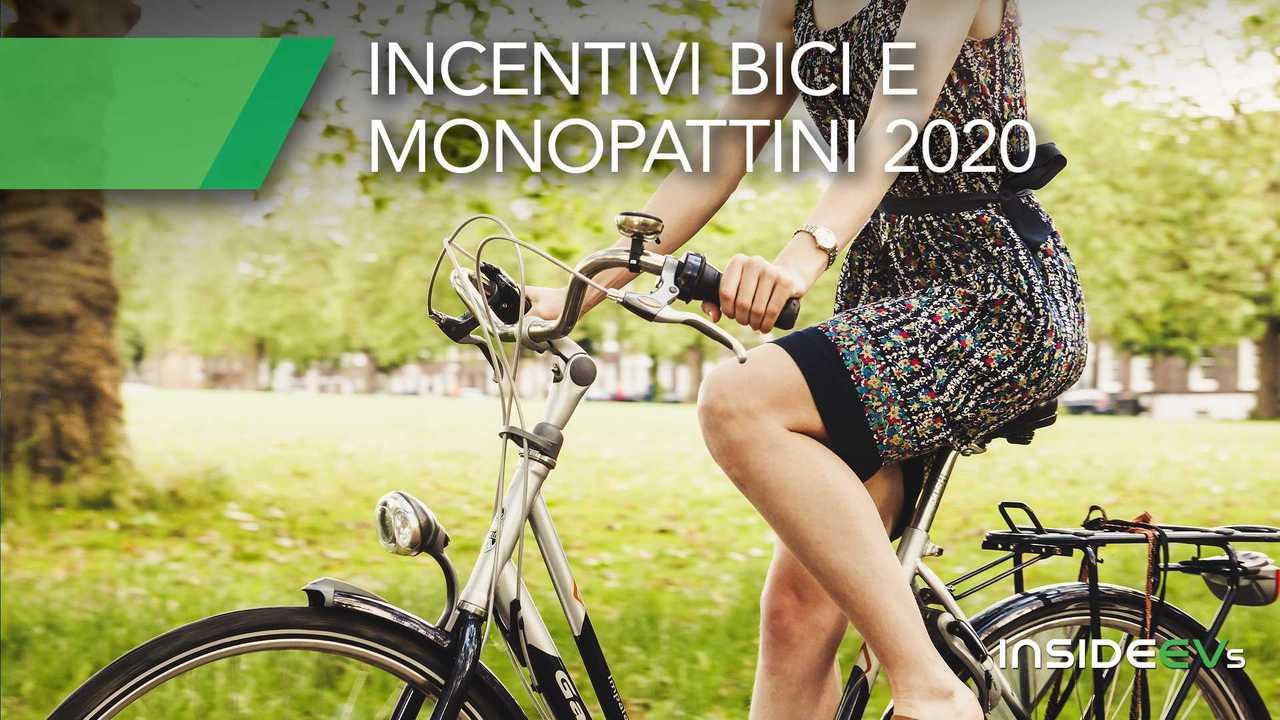 incentivi bici e monopattini 2020