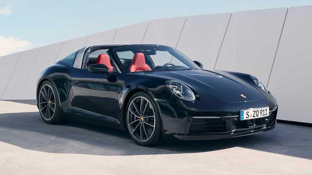 2021 Porsche 911 Targa 4 and Targa 4S
