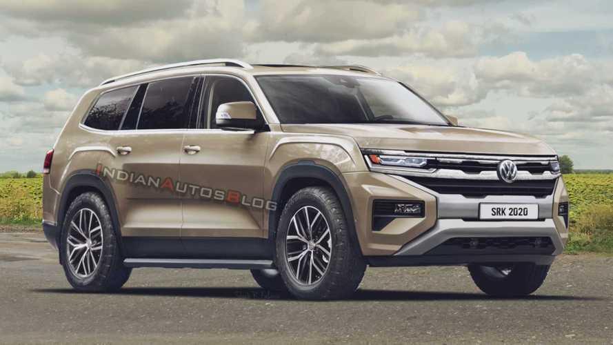 Volkswagen Amarok SUV: designer imagina possível rival do Toyota SW4