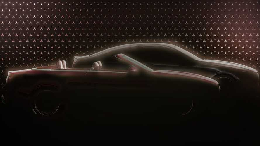 2021 Mercedes E-Class Coupe, Convertible facelift teaser