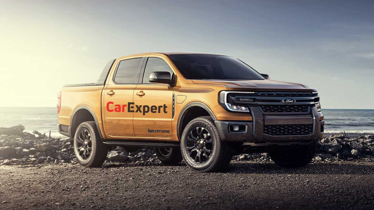 2022 Ford Ranger rendering