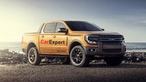 2022 Ford Ranger renderings