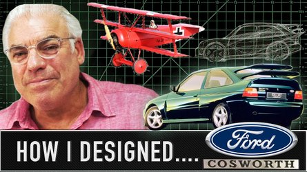 Ford Cosworth's famous spoiler was inspired by Red Baron's plane