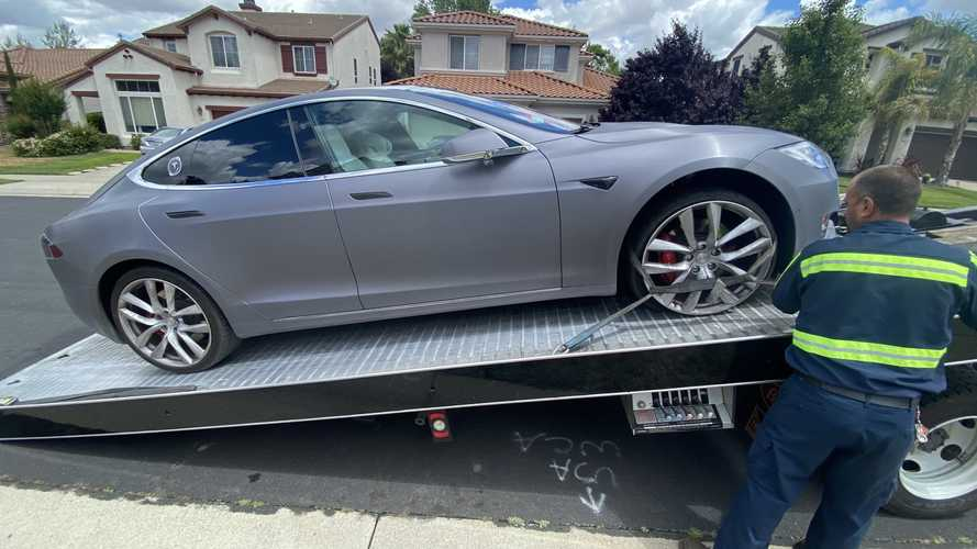 Here's What Happens When Your Tesla Needs A Tow During A Pandemic