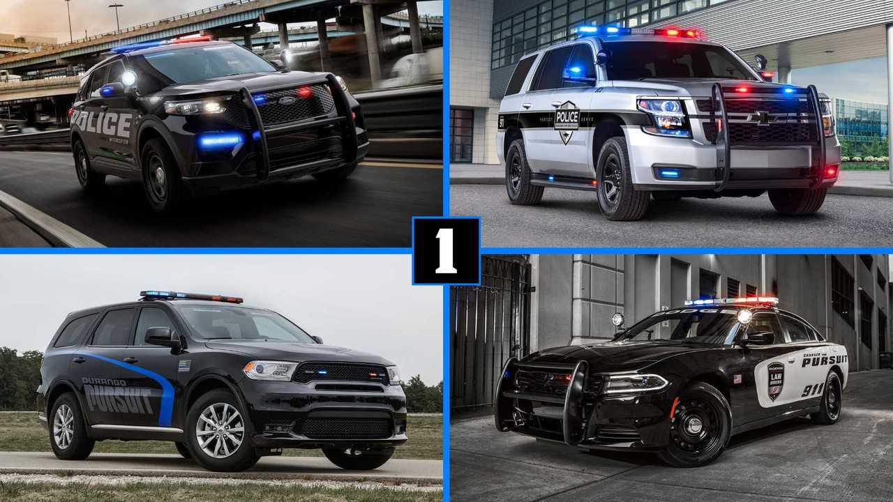 USA - Toutes les voitures des policiers américains