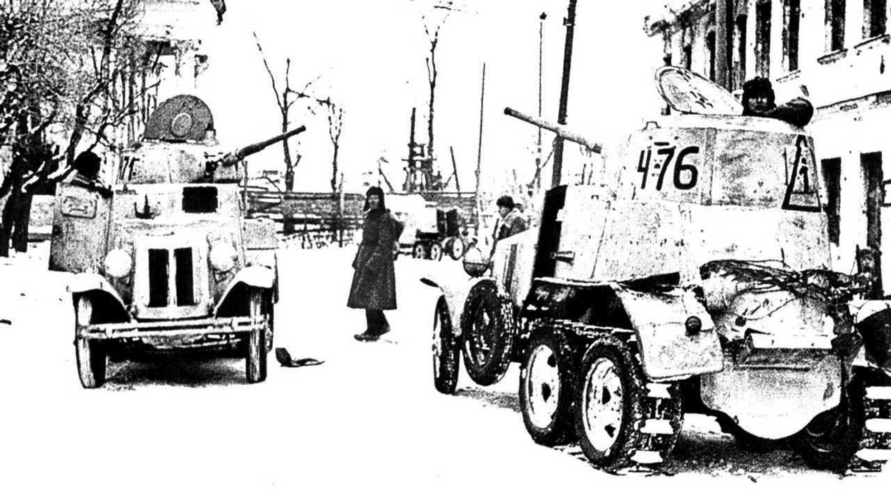 1938 год – БА-10А