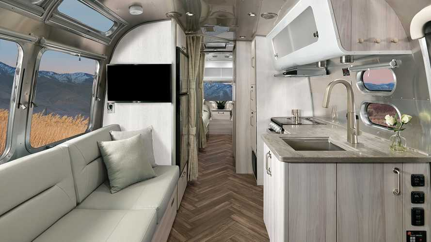 See Airstream's new interiors for Flying Cloud, International caravans