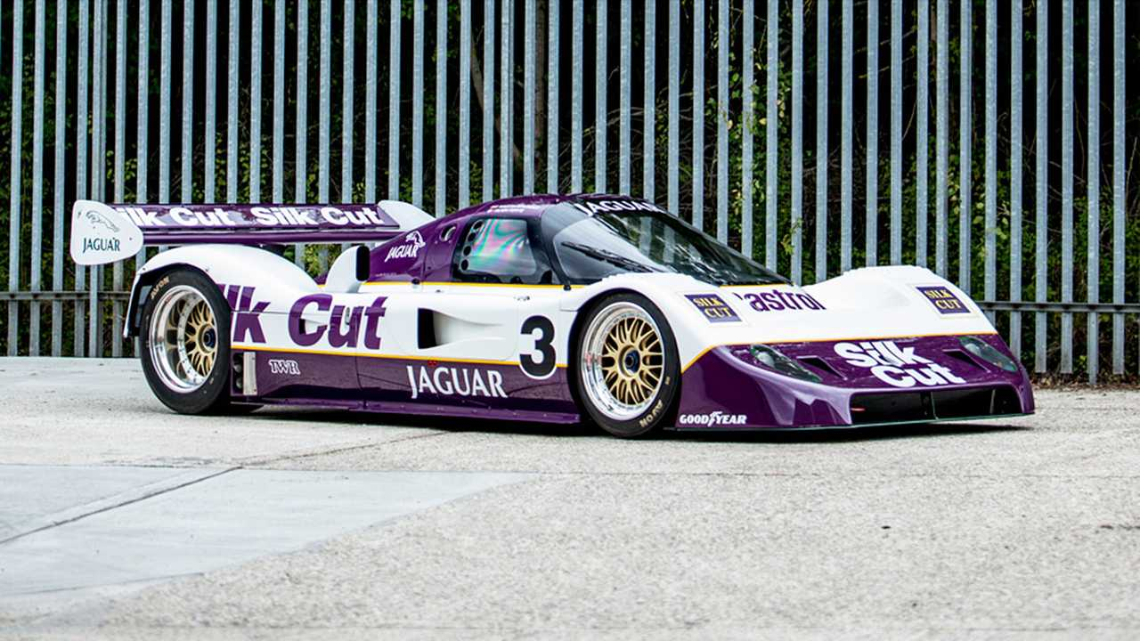 Jaguar XJR-11 Groupe C (1990) - 1,3 million d'euros