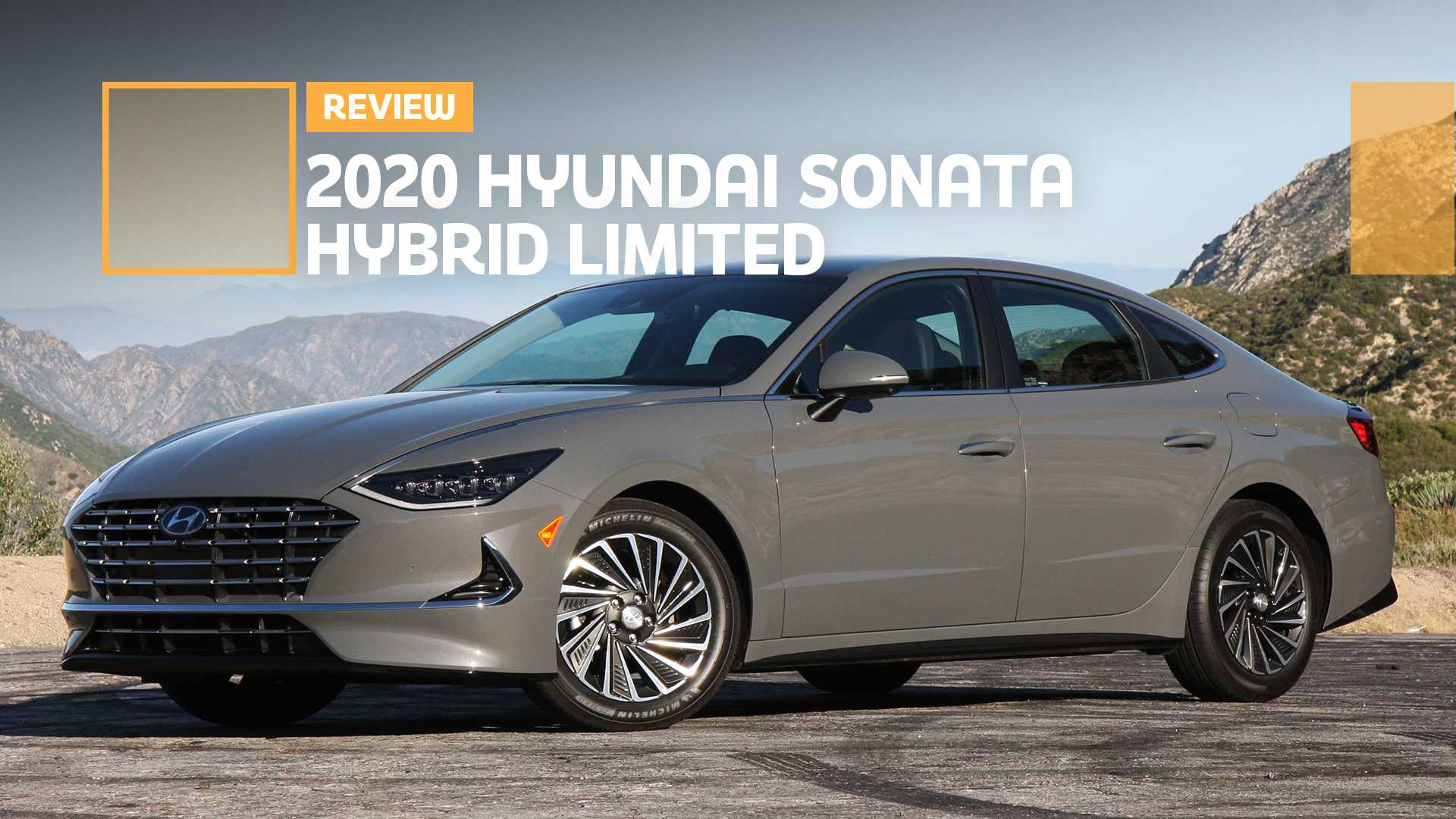 2020 Hyundai Sonata Hybrid Sport Concept and Review