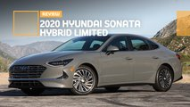 2020 hyundai sonata hybrid limited sedan review