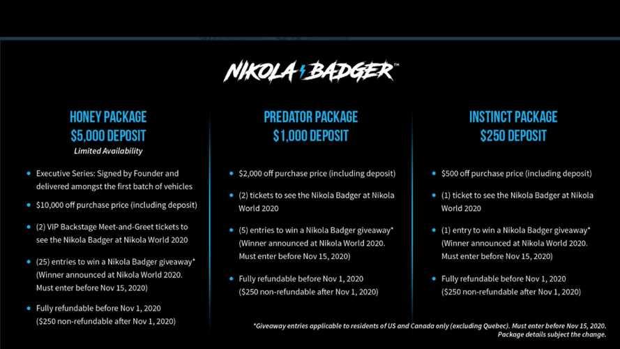 Nikola Badger Pickup Truck Reservation Website To Go Live Today At 11 AM ET