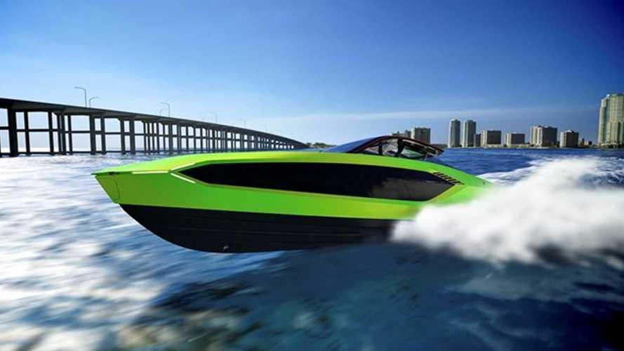 Tecnomar: así es el Lamborghini de los yates de lujo