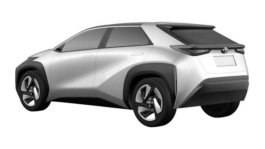 Toyota electric SUV patents
