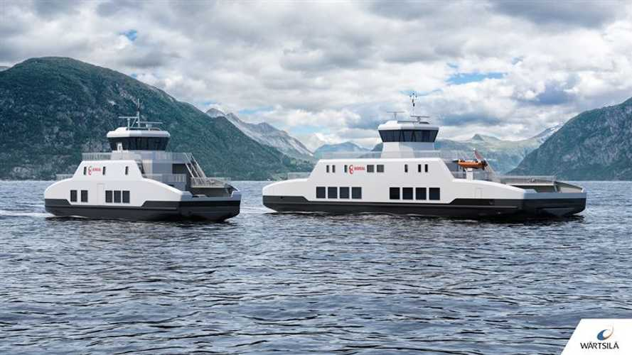 Wartsila To Design And Equip Two New Electric Ferries