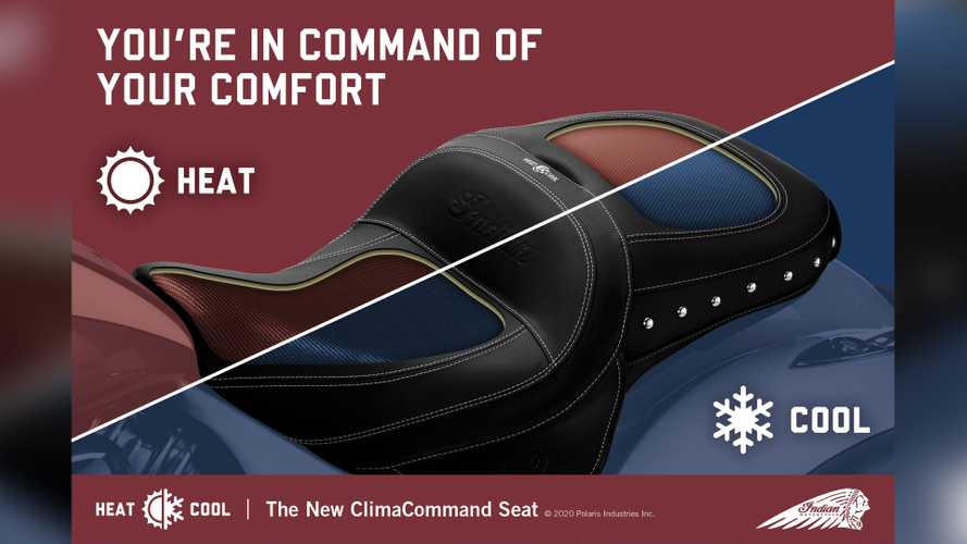 Indian Keeps You Cool—Or Warm—With New Climate-Controlled Bike Seat