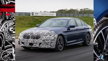 BMW 5 Series and 6 Series Gran Turismo facelift teaser images