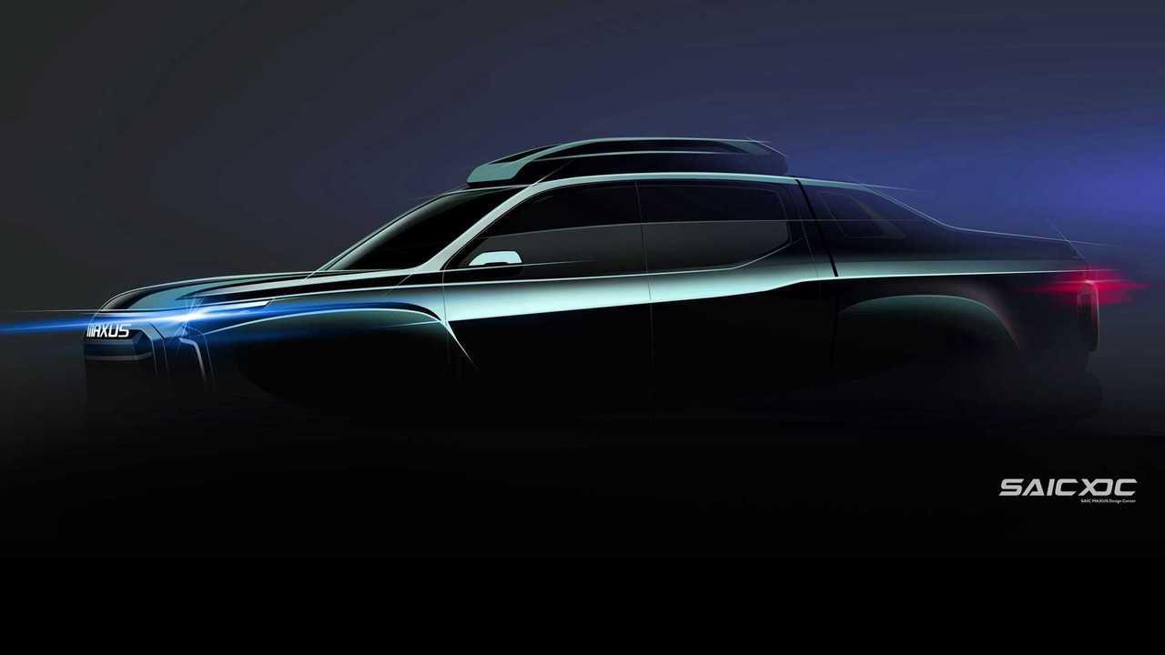 SAIC MAXUS May Be Preparing A Honda Ridgeline-Styled Electric Pickup Truck