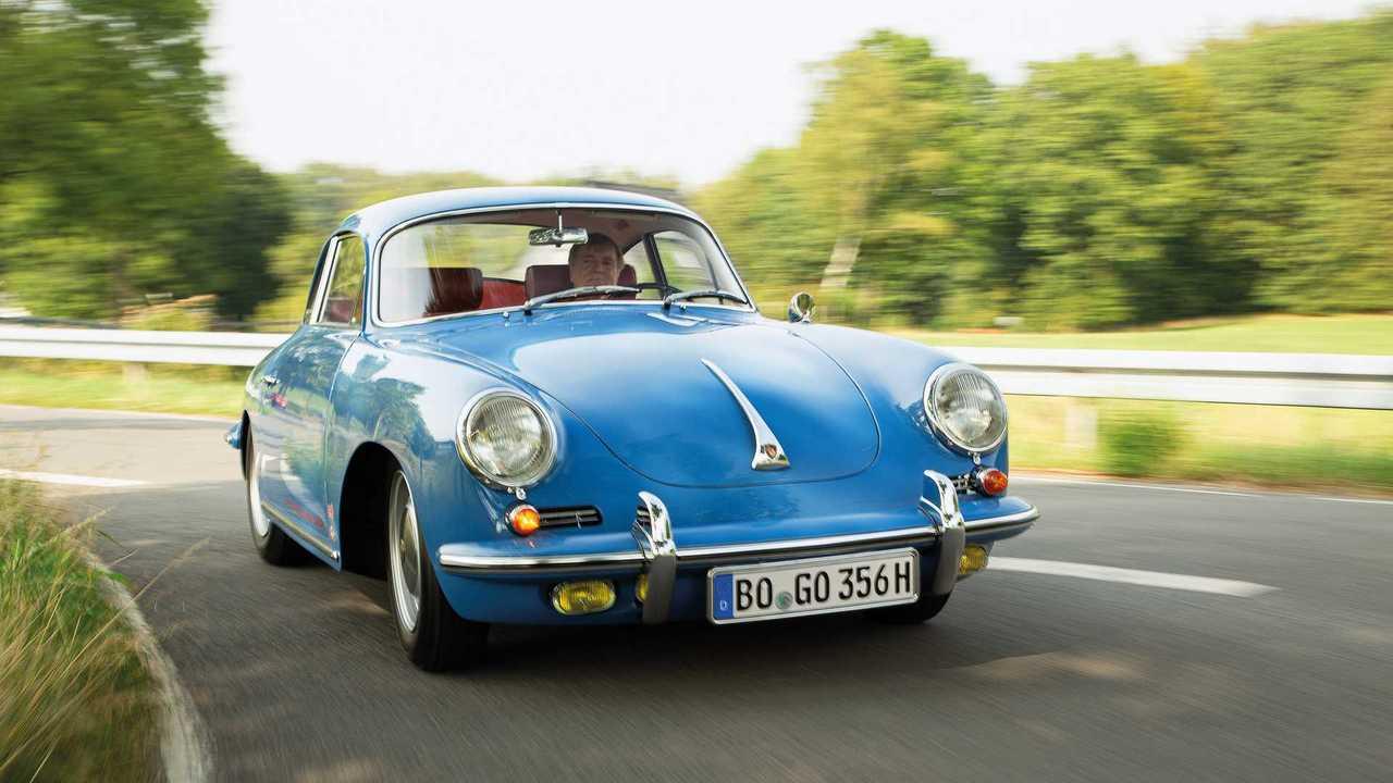 Restauración Porsche 356 C