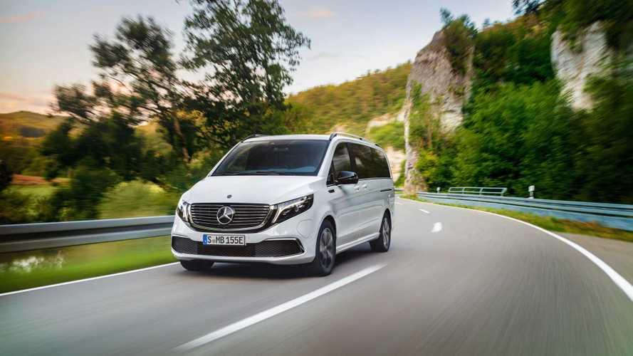 Mercedes EQV: van elétrica de luxo que roda 418 km chega ao mercado