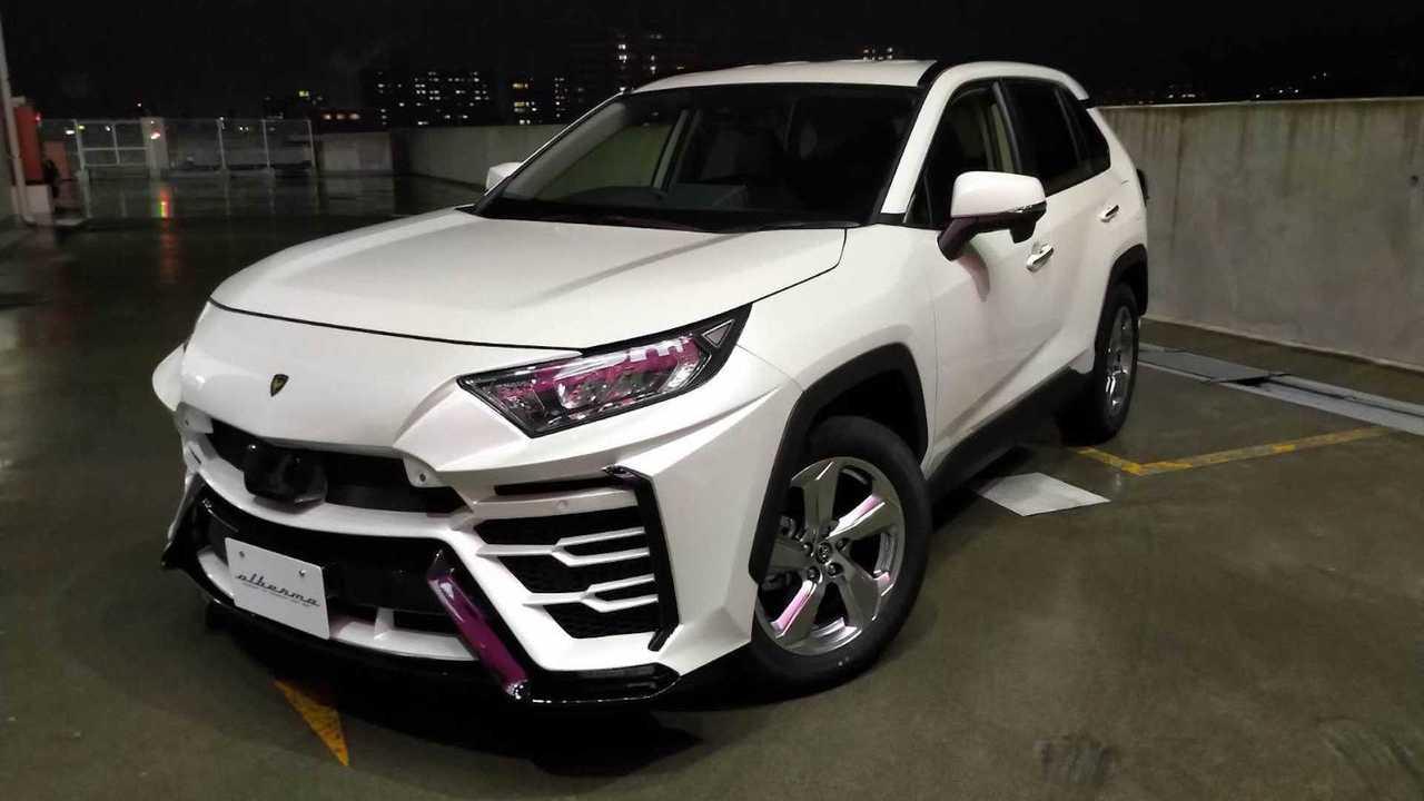 Bodykit Toyota RAV4 Albermo XR51