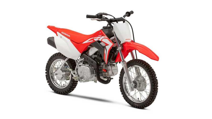 2021 Honda CRF Lineup