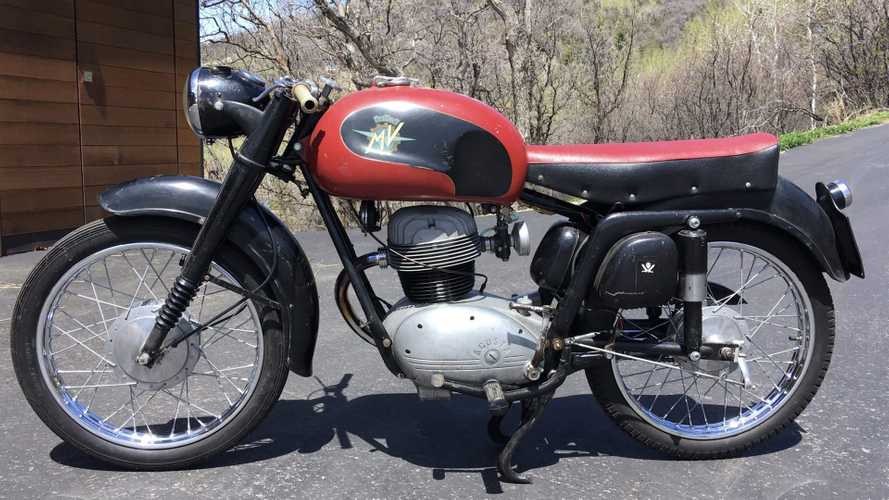 This 1957 MV Agusta 175 AB Is One Of The Company's Early Budget Bikes