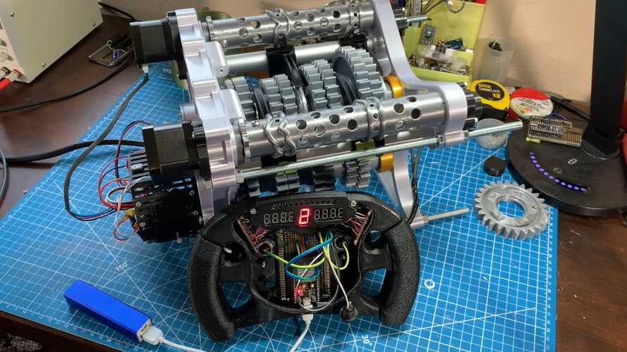 3D printed F1-style gearbox
