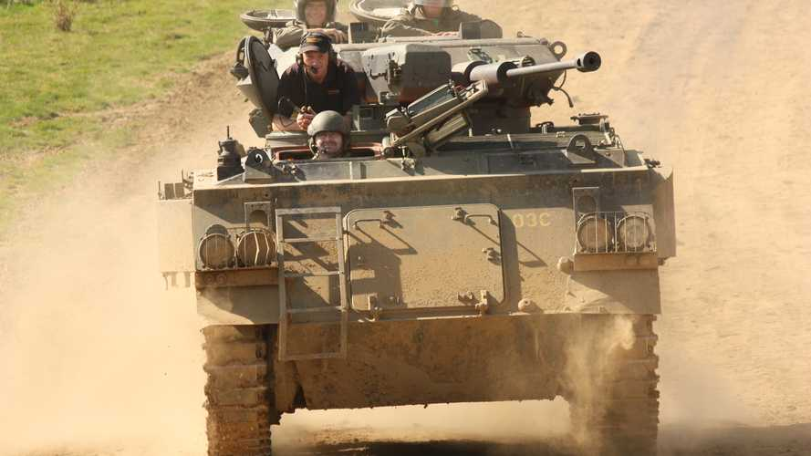 Most popular military vehicles for experience days revealed
