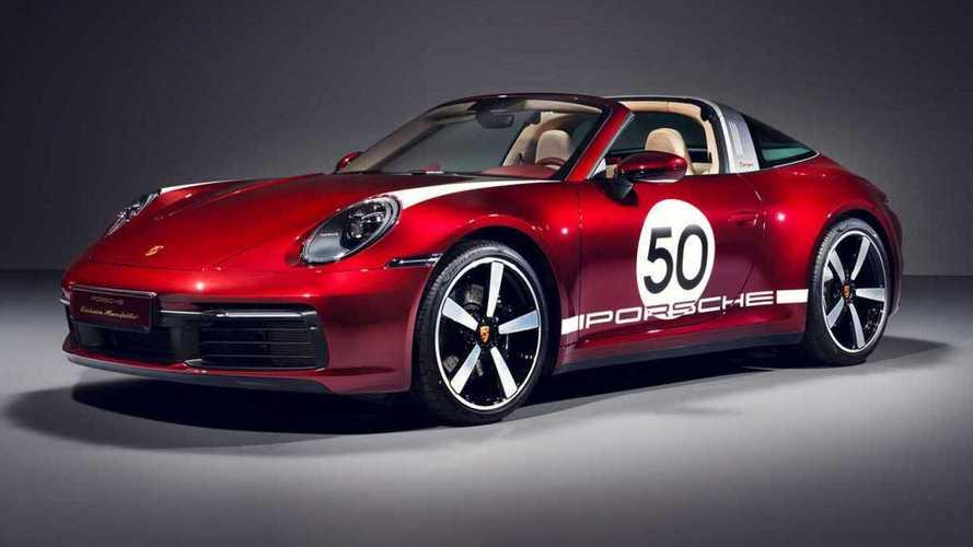 2020 Porsche 911 4S Targa Heritage Edition geçmişi selamlıyor