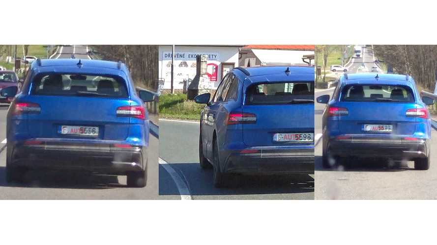 UPDATE: Skoda Enyaq Electric Prototype Spotted Driving In Czechia