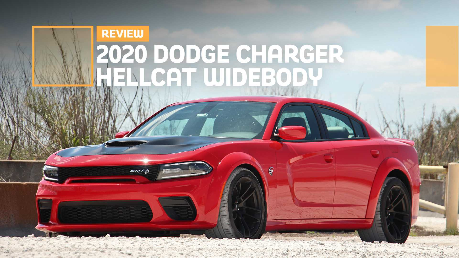 2020 Dodge Charger Hellcat Widebody Review More Hip More Grip