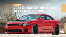 2020 dodge charger hellcat widebody sedan review