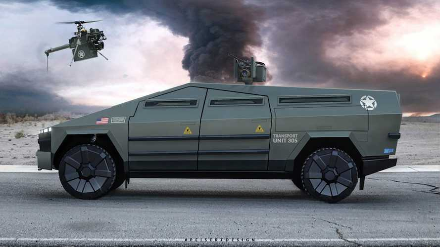 Check Out These Ultimate Tactical Tesla Cybertrucks: A Pickup Truck On Steroids
