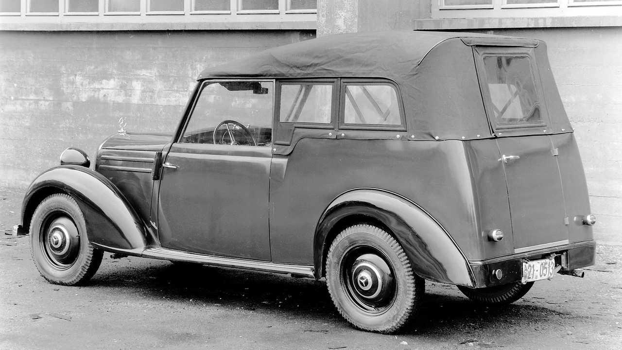 Historische Polizeifahrzeuge in Deutschland: Mercedes 170 S