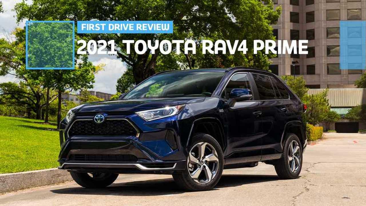 2021 Toyota RAV4 Prime: First Drive