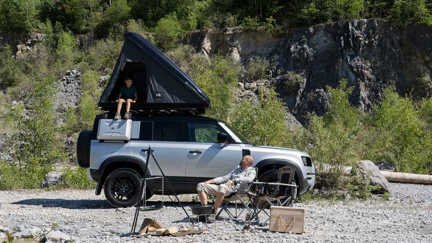 Land Rover Defender (2020) mit Dachzelt