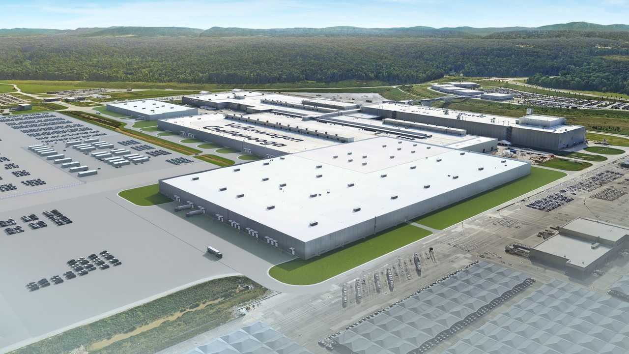 Volkswagen plant in Chattanooga, Tennessee