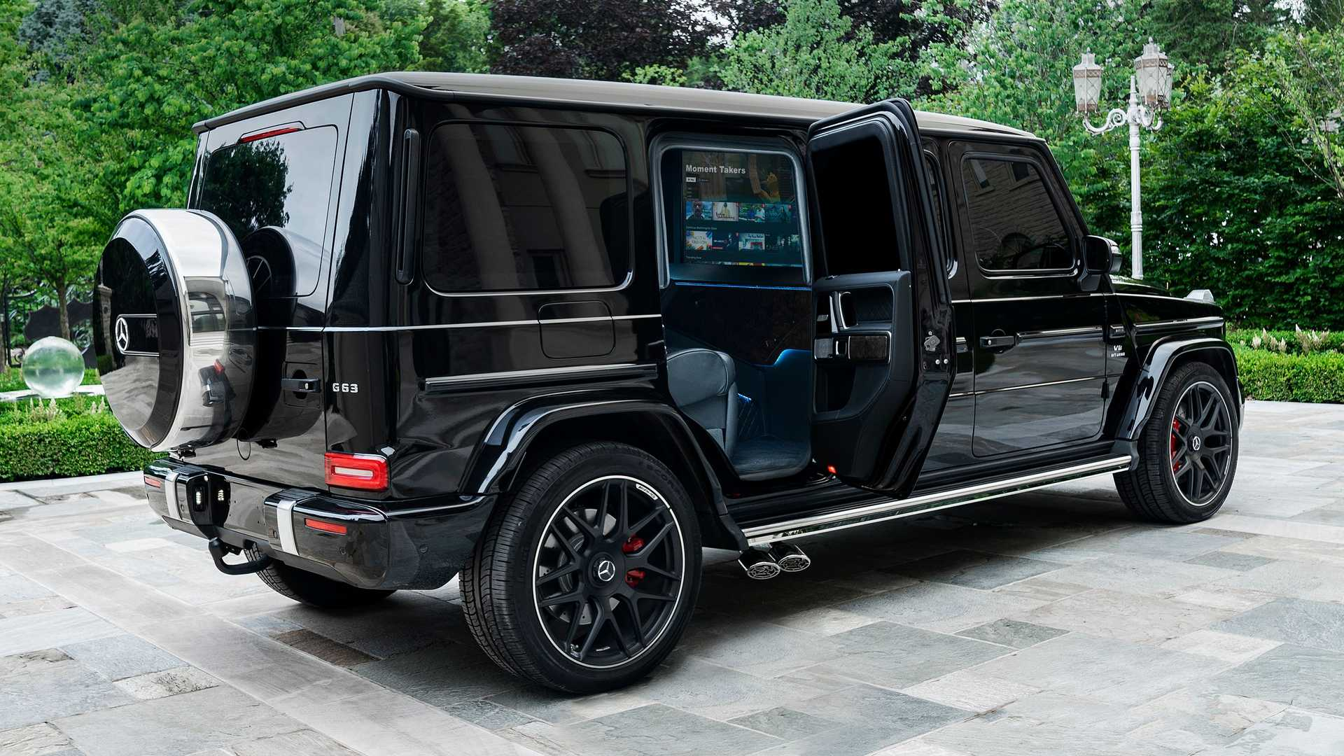 2017 - [Mercedes-Benz] Classe G II - Page 9 Inkas-mercedes-g63-armored-limo-doors