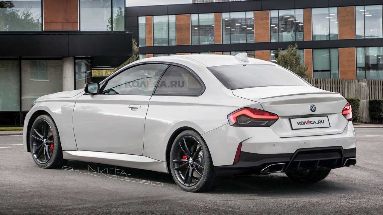 5 BMW 5 Series Coupe Leaked Photos Turned Into Realistic Rendering