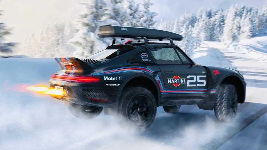 Porsche 911X Renderings