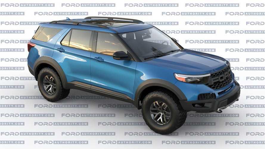 Ford Explorer Gets Raptor Treatment In Rad Rendering