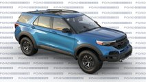 ford explorer raptor rendering