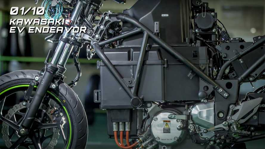 Kawasaki Endeavor Electric Motorcycle Project: Everything We Know