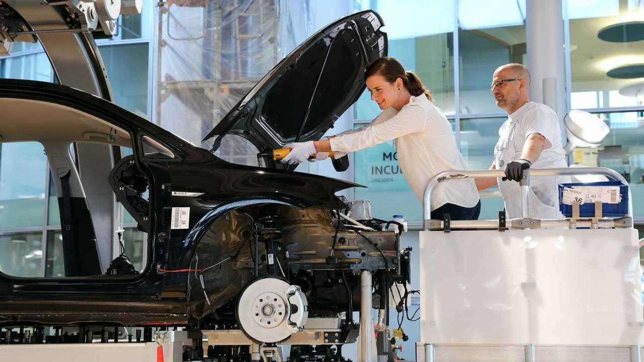 Volkswagen - produção do e-Golf - 3